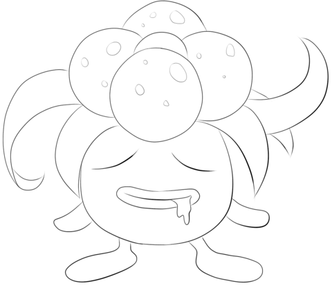 Gloom coloring page