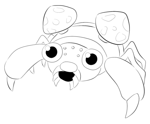 Paras coloring page