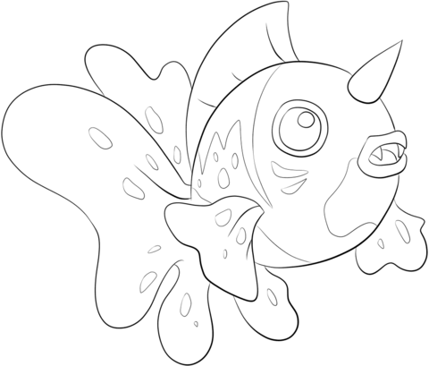 Seaking coloring page