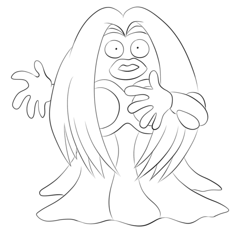 Jynx Coloring page