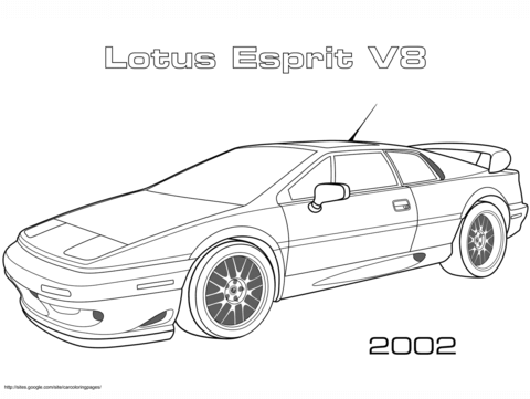 Aston Martin coloring page - Free Printable Coloring Pages