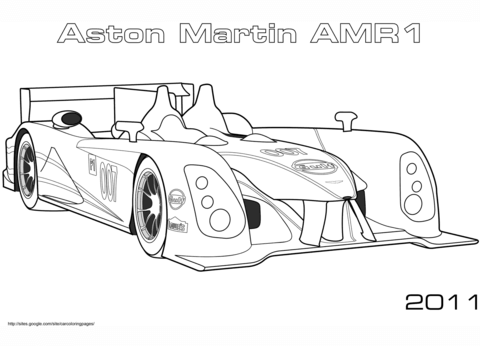 BMW E92 M3 GTR coloring page - Free Printable Coloring Pages