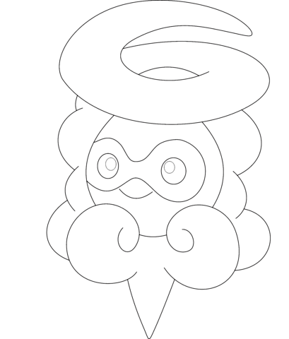 chimecho coloring pages - photo#17