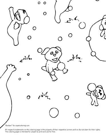 Barbaloots coloring page