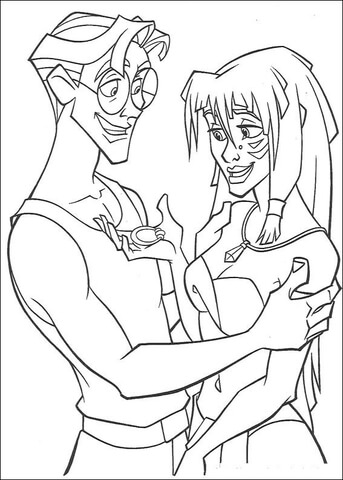 Happy Together  coloring page