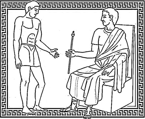 Master and Slave coloring page
