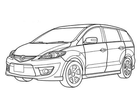 Almera car coloring pages ~ Kyle Busch Victory Celebration coloring page - Free ...