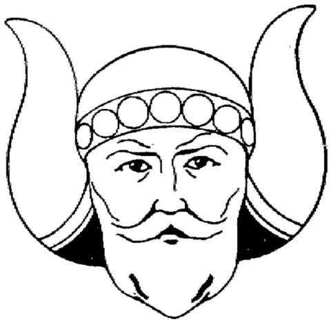 Viking  coloring page