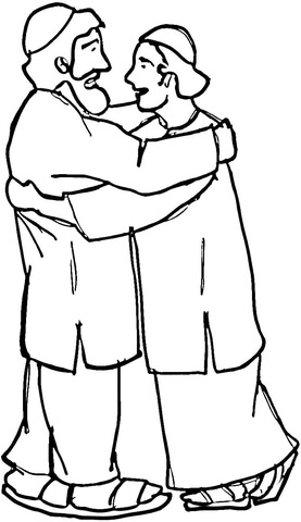 Afghanistan Men  coloring page