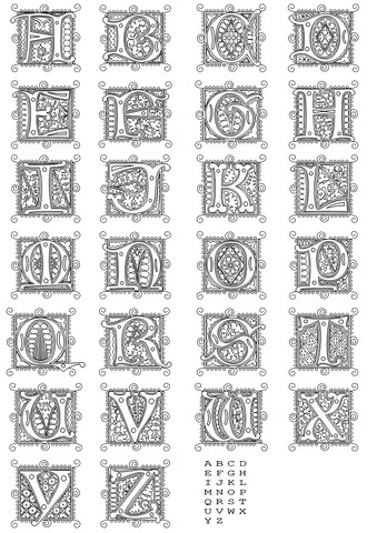 Full alphabet worksheet  3 coloring page