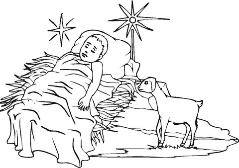 3 Wise Men coloring page - Free Printable Coloring Pages