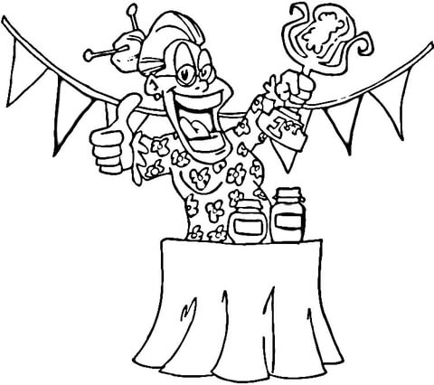 Best Grandma Jam Contest  coloring page