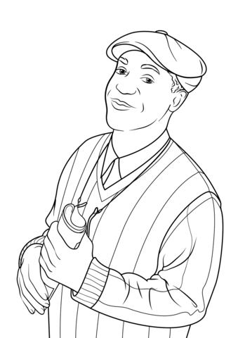 will smith coloring page bill cosby coloring page