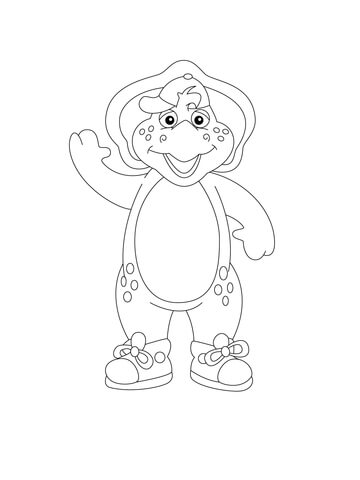 Bj coloring page