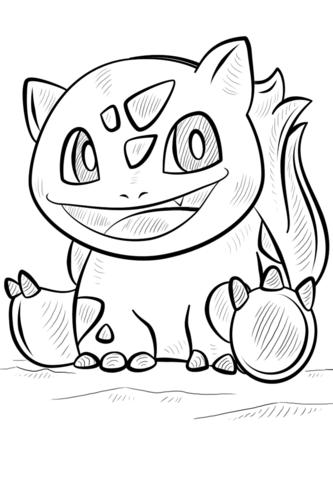 Bulbasaur Pokemon Coloring Page Free Printable Coloring Pages - Slowpoke-coloring-pages