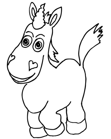 Buttercup coloring page - Free Printable Coloring Pages