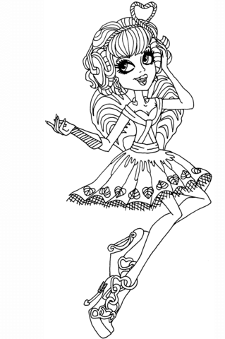 C. A. Cupid coloring page