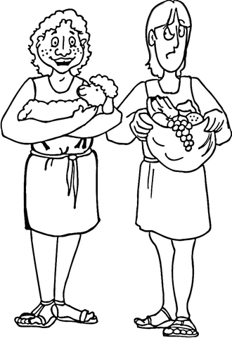 Printable Zacchaeus Coloring Page : The great flood coloring page free printable coloring pages