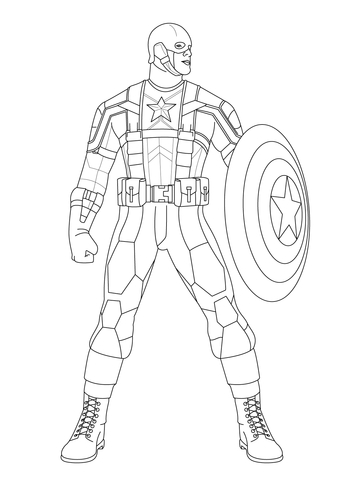 captain-america-coloring-page