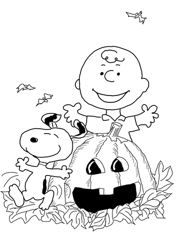 Charlie Brown Valentine\'s Day coloring page - Free Printable ...