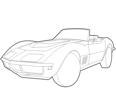Chevrolet Camaro coloring page - Free Printable Coloring Pages