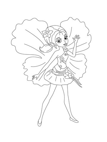 Chrysella coloring page