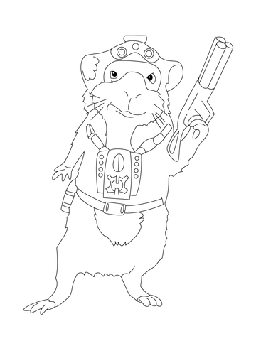 Darwin  coloring page