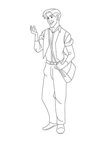 Dimitri coloring page