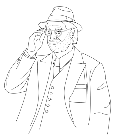 Dr. Abraham Erskine coloring page