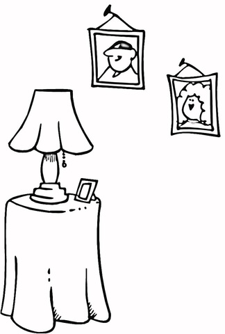 Family Portraits  coloring page