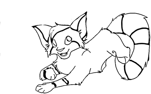 Foxy Fox coloring page