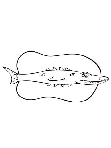great barracuda coloring page funny barracuda coloring page