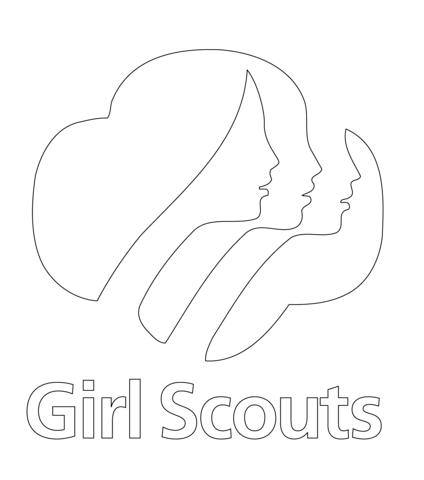 Girl Scouts coloring page - Free Printable Coloring Pages