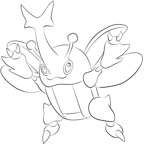 Cyndaquil coloring page - Free Printable Coloring Pages