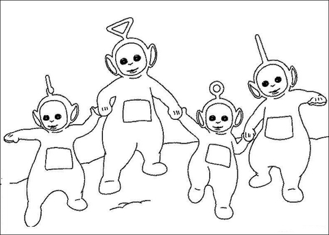 Holding Together  coloring page