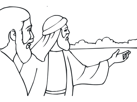 King Jehoiakim Burns Jeremiah\'s Scroll coloring page - Free ...