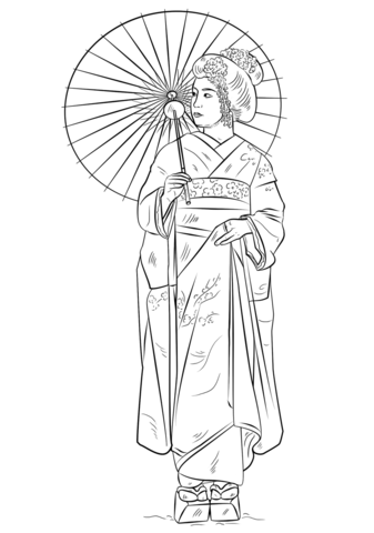 native american dreamcatcher coloring page japanese girl in traditional dress coloring page