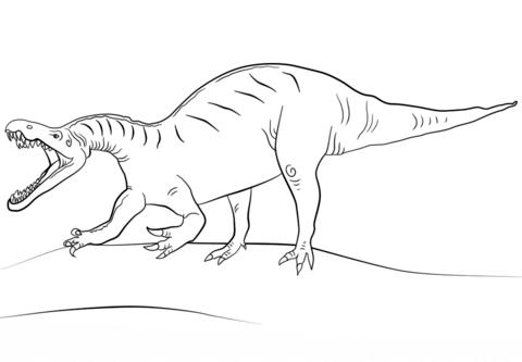 Jurassic World Mosasaurus Coloring Page