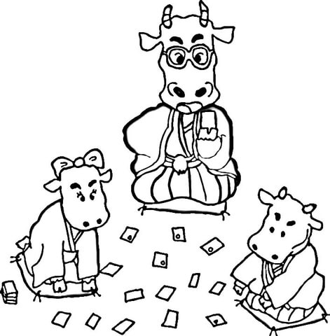 Kids Animals  coloring page