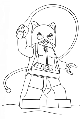Lego Chima Wolf coloring page - Free Printable Coloring Pages