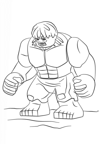 Lego Super Heroes Free Printable Coloring Pages