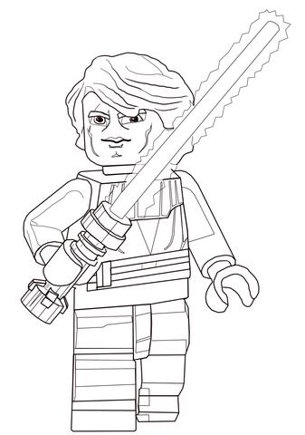 Lego Star Wars Clone Christmas coloring page - Free Printable ...
