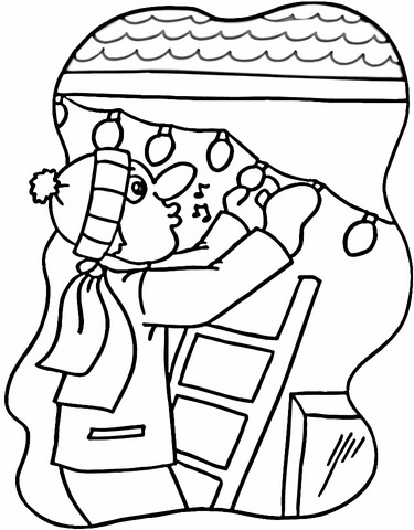 Lights In The House  coloring page