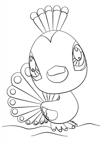 Littlest Pet Shop Coloring Page Free Printable Coloring Pages