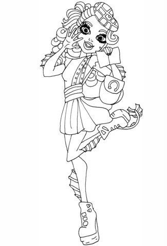 Lorna Mcnessie coloring page
