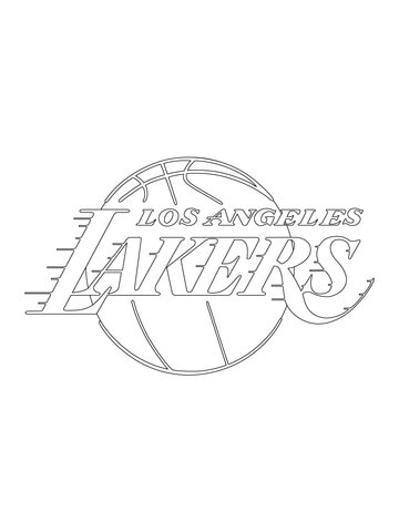 New York Knicks Logo coloring page - Free Printable Coloring Pages