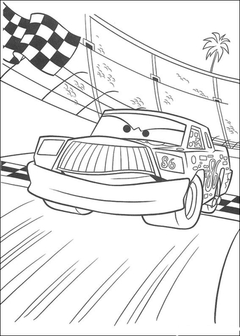 Chick Hicks coloring page