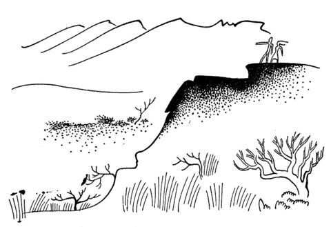Low Mountains  coloring page