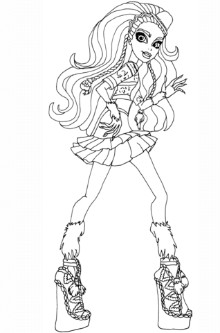 Madison Coxi coloring page