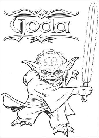 darth maul vs qui gon jinn fight coloring page free printable